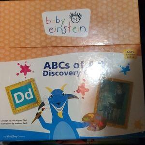 Baby Einstein ABC of Art cards